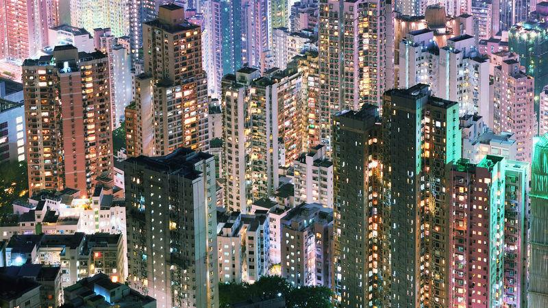Tower blocks will be home for most expats in Hong Kong