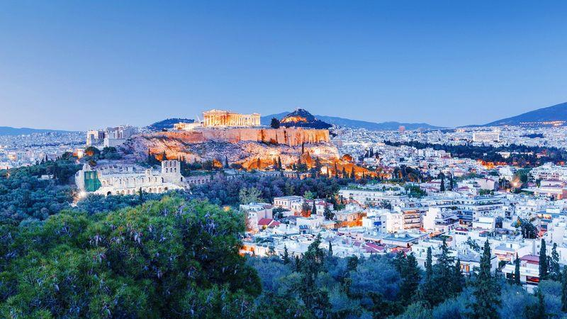 Athens' attractions for investors include low prices and 'golden visas'