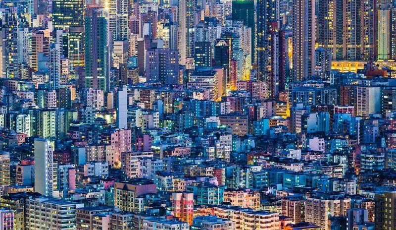 high rise buildings in hong kong