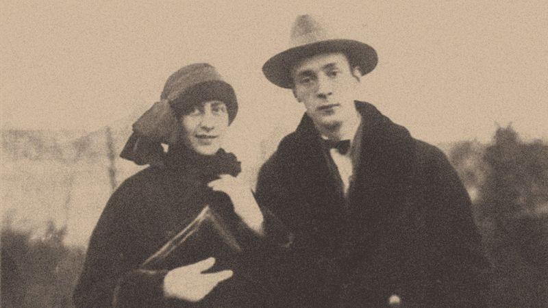 Vladimir Nabokov and his wife Véra in Berlin, c1924
