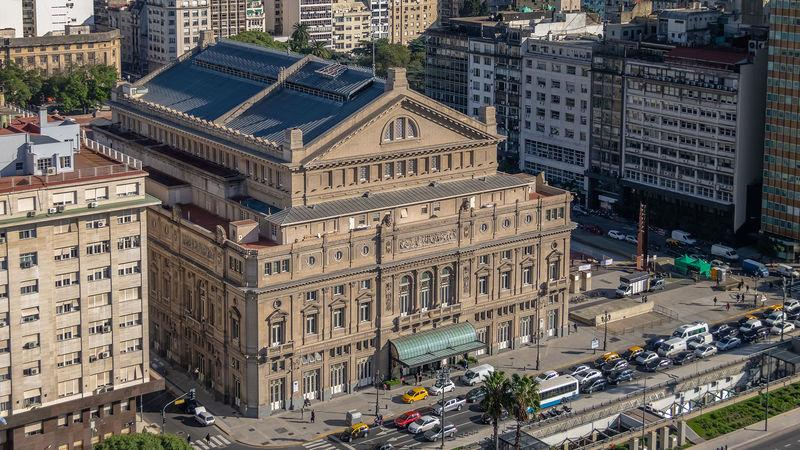 The Teatro Colón is famous for its world-class acoustics