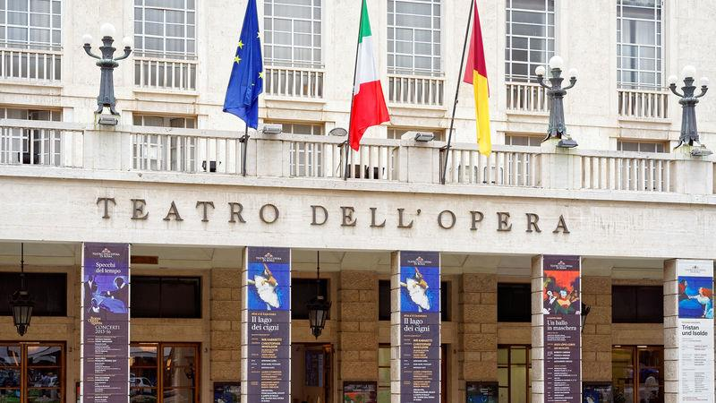 The Teatro dell'Opera is one of the city's cultural highlights