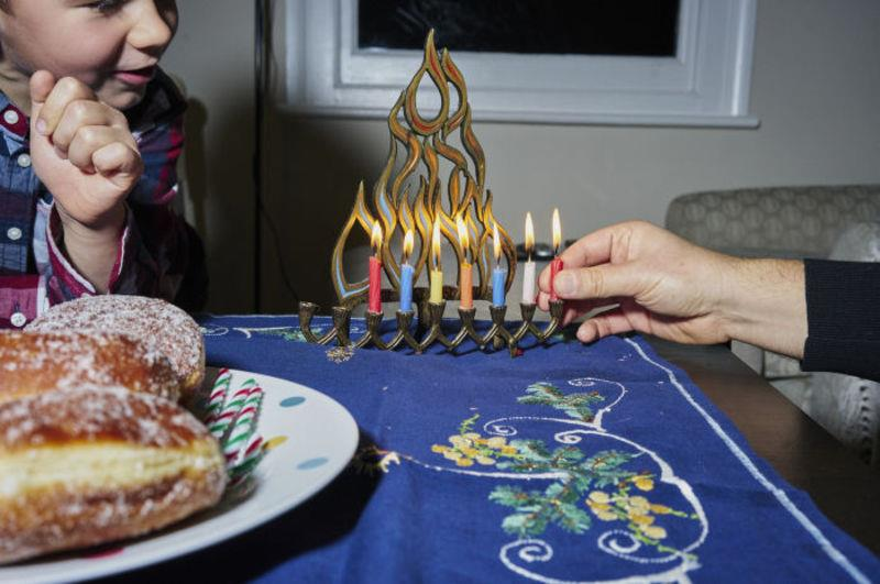 Time to light the Hanukkah candles
