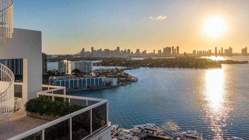 Gianluca Vacchi lists his Miami Beach home
