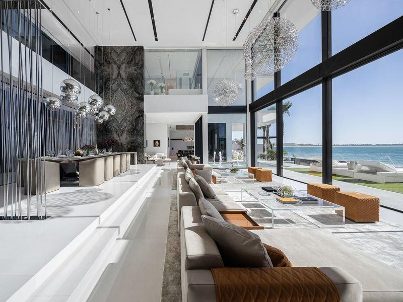 14,000-square-foot home on the Palm Jumeirah