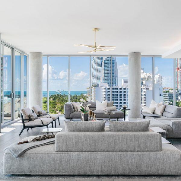 penthouse in Miami Beach