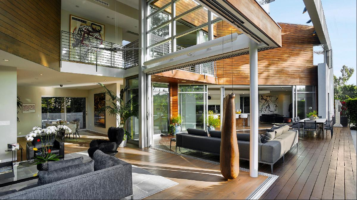 Fantasy Homes A Modernist Mansion Forged Of Steel And Glass Ft Property Listings