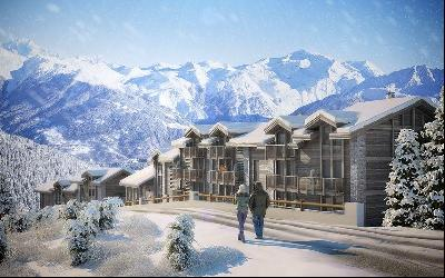 Brand new exceptional project  in Courchevel
