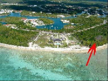 Large development beachfront tract in Bell Channel