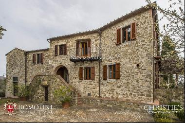 Tuscany - FARMHOUSE WITH VINEYARD AND OLIVE GROVE FOR SALE GREVE IN CHIANTI