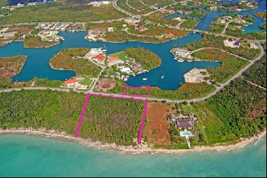 Outstanding Ocean to Canal Land in Prime Location Ready for Development with NO PROPERTY