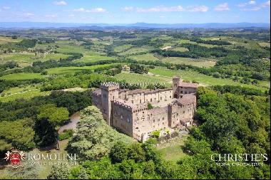 Chianti - CASTLE WITH VINEYARDS FOR SALE BETWEEN FLORENCE AND SIENA, TUSCANY