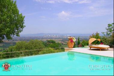 Tuscany - LUXURY VILLA FOR SALE IN MONTEPULCIANO