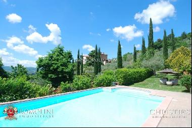 Tuscany - VILLA WITH PANORAMIC VIEW FOR SALE, AREZZO
