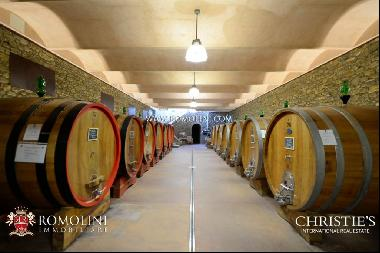 Tuscany - BRUNELLO DI MONTALCINO: STATE-OF-THE-ART WINERY FOR SALE