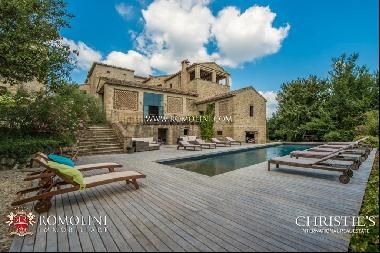 Tuscany - CHARMING BOUTIQUE HOTEL FOR SALE IN ANGHIARI