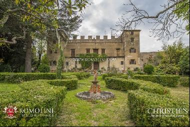 Tuscany - LUXURY VILLA WITH MEDIEVAL HAMLET FOR SALE, FLORENCE