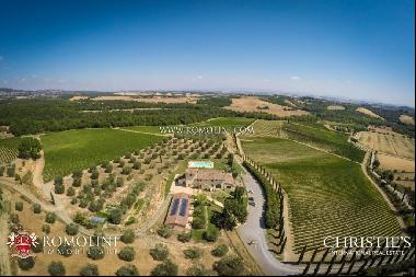 Tuscany - BEAUTIFUL WINE RESORT FOR SALE NEAR SIENA