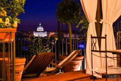 Penthouse in historical center of Rome