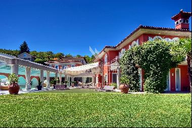 Fitness & relaxing – a perfect match in this villa for sale in Carona