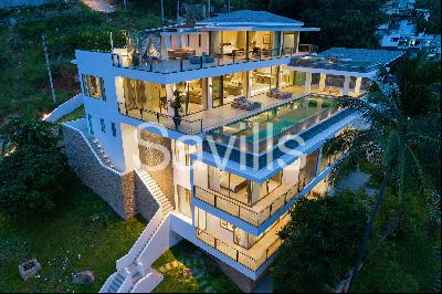 Villa ONE I Magnificent sea-view villa in Chaweng Noi