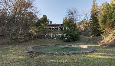 Sale of country house with pool, in protected area, Gerês, Portugal