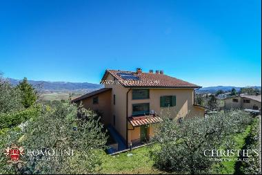 Tuscany - VILLA WITH PANORAMIC VIEW FOR SALE IN ANGHIARI