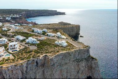 Seafront plot in Cala Morell