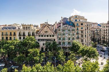 Formidable apartment on Paseo de Gracia