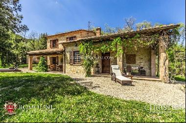 Umbria - COUNTRY HOUSE WITH OLIVE GROVE FOR SALE IN TODI