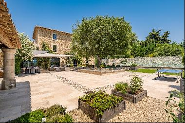 Close to Gordes - Magnificent restored Mas among olive trees