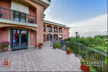 Tuscany - HOTEL FOR SALE IN MONTEPULCIANO, VAL D'ORCIA