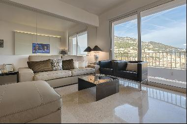 JARDIN EXOTIQUE: 4 rooms, sea view, furnished