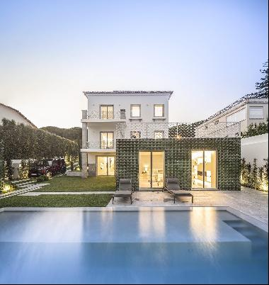 Exclusive villa, located in one of the noblest and safest areas of Lisbon - Restelo. This