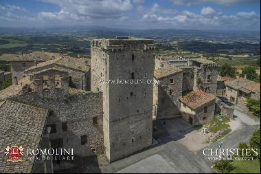 Umbria - MEDIEVAL TOWER FOR SALE IN UMBRIA, IN GUALDO CATTANEO