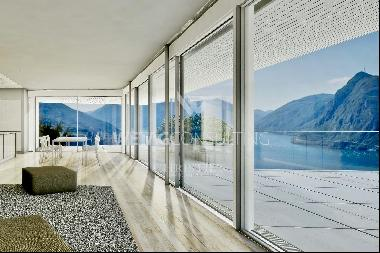 Apartments in Aldesago with spectacular Lake Lugano view for sale