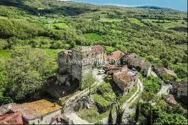 Tuscany - SMALL CASTLE FOR SALE IN PIEVE SANTO STEFANO