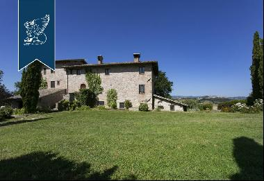 Stunning farmstead surrounded by Umbria's countryside for sale