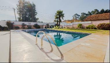 Luxury villa with pool and garden, for sale, in Espinho, Portugal