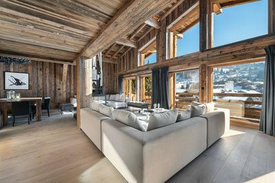Invest in a luxury chalet on Megève