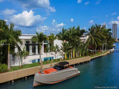 Prestigious private estate situated in one of Miami Beach's most desirable enclaves