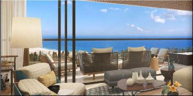 Superbe appartement with ocean view near a world-class golf course in Los Cabos