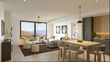 Scandinavian inspired appartement with ski in/ski out a pure mountain living