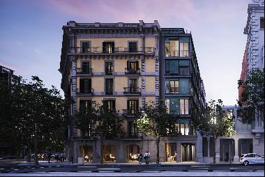Extraordinary corner penthouse with astonishing views of Rambla de Catalunya