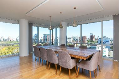 The only apartment in the building with a private terrace and swimming pool in Alrío