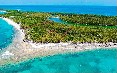 Four Large Beachfront and Canal front Lots on Rose Island