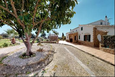Mediterranean country house with pool near Alaior