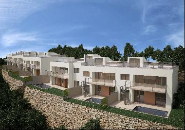 New development a few meters from the center of Begur