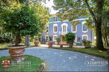Tuscany - HISTORIC VILLA, BOUTIQUE HOTEL FOR SALE IN LUCCA, TUSCANY
