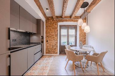 Flat in a new development of flats in a wonderful medieval building